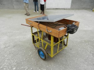 Upgraded Solar Cart